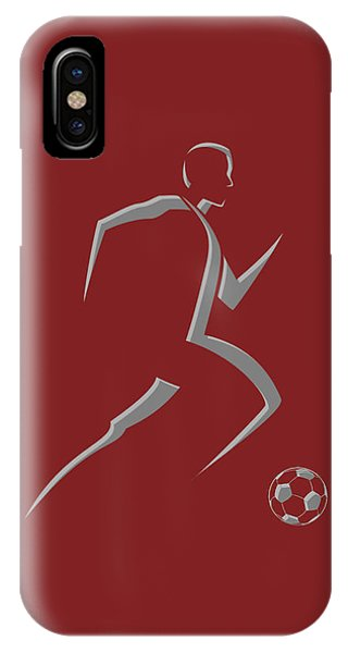Soccer Player9 IPhone Case