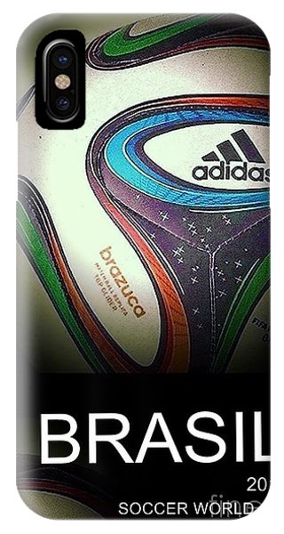 Soccer World Cup Poster 1 IPhone Case