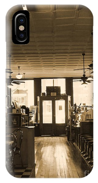 Soda Fountain And General Store IPhone Case