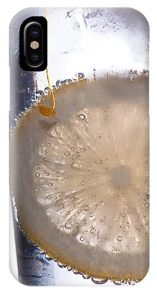 Soda With Lemon Phone Case by David Pinsent