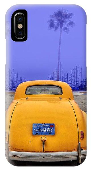 Sofa Car Almost Blue IPhone Case