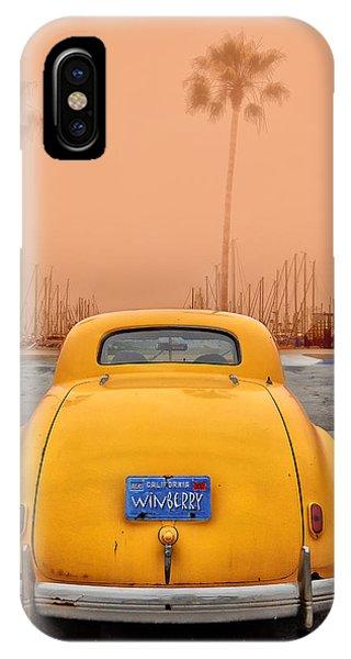 Sofa Car Orange IPhone Case