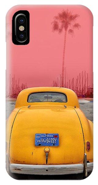 Sofa Car Red IPhone Case