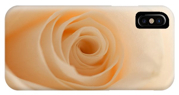 Soft And Creamy Rose IPhone Case