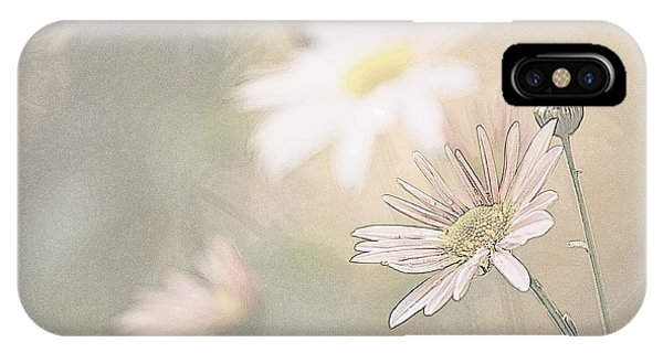 Soft Aster IPhone Case