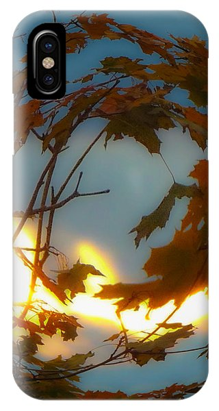 Soft Autumn Dawn IPhone Case