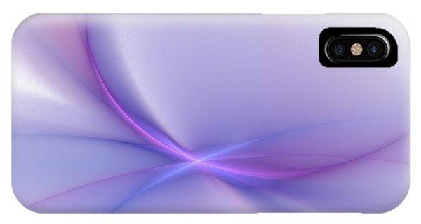 Violet Flame iPhone Case - Soft Blend by Elizabeth McTaggart