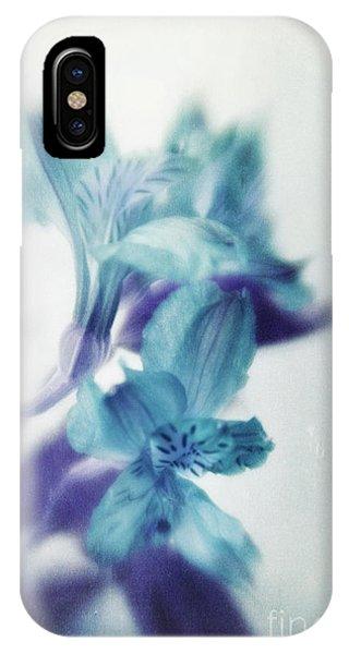 Peru iPhone Case - Soft Blues by Priska Wettstein