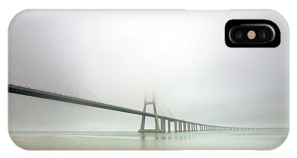 Portugal iPhone Case - Soft Bridge by Jorge Feteira