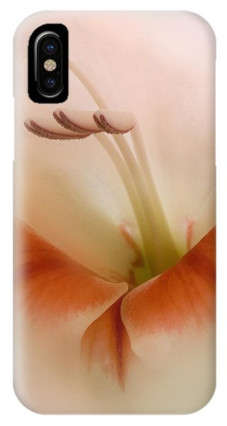 Soft Gladiolus IPhone Case
