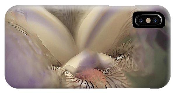 Soft Iris Flower IPhone Case