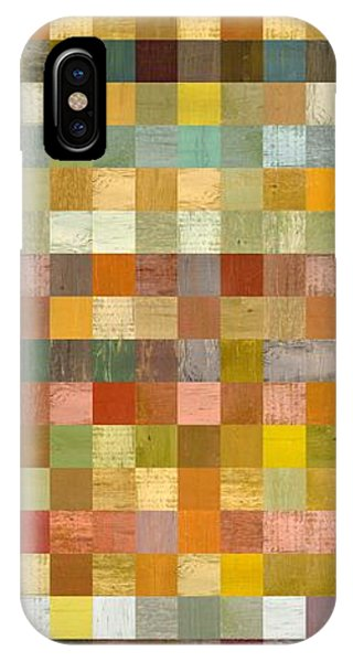 Soft Palette Rustic Wood Series Collage L IPhone Case