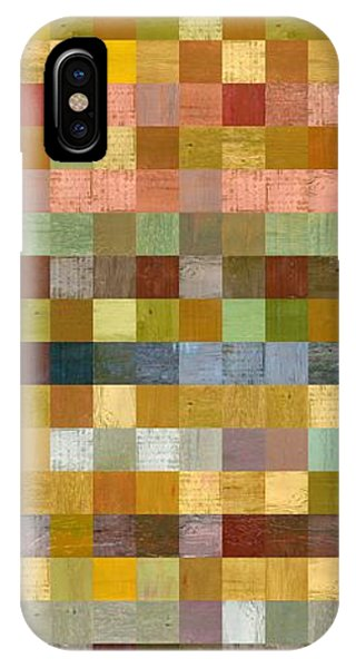 Soft Palette Rustic Wood Series Collage Ll IPhone Case