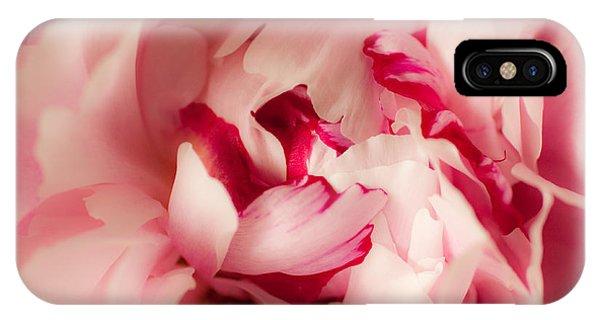 Soft Peony IPhone Case