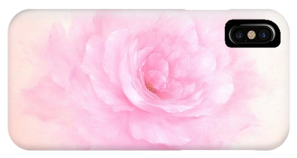 Soft Pink Rose IPhone Case