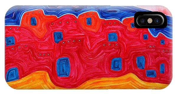 Soft Pueblo Original Painting IPhone Case