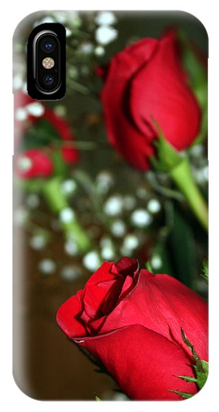 Soft Roses IPhone Case