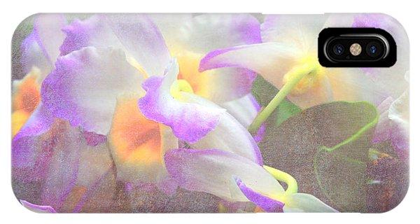 Soft Subtle Orchids IPhone Case