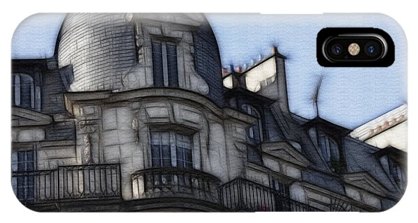 Softer Side Of Paris Architecture IPhone Case