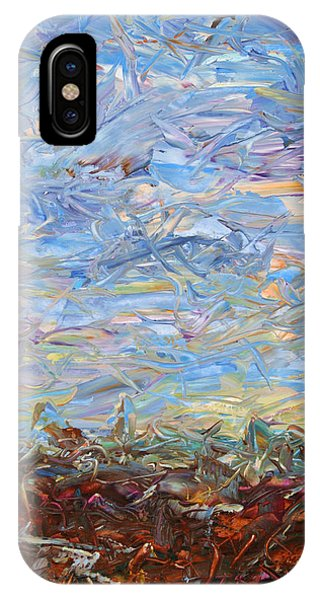 Abstract Landscape iPhone Case - Soil Turmoil by James W Johnson