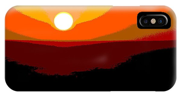 Solar Abstract IPhone Case