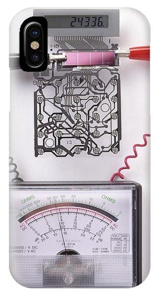 Solar Cell Inside A Calculator IPhone Case
