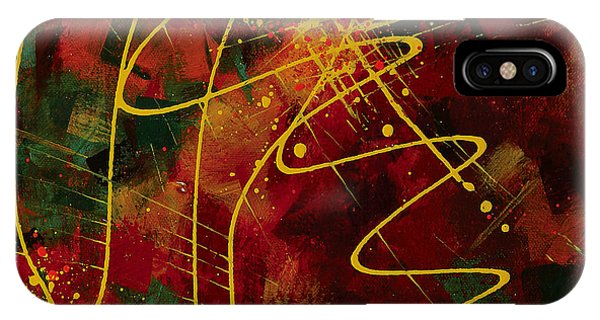 iPhone Case - Solar Flare by Julie Acquaviva Hayes