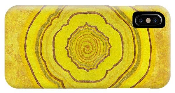 Solar Plexus Flower IPhone Case