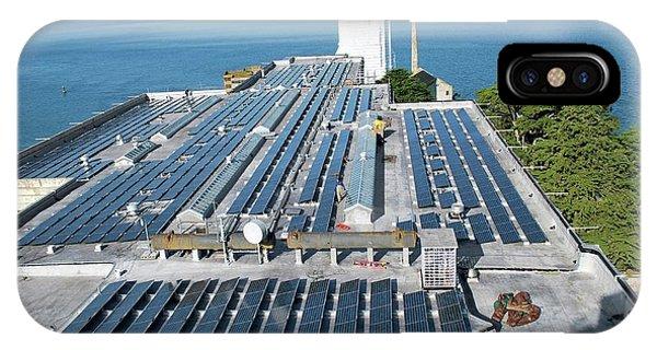 Solar Power At Alcatraz IPhone Case