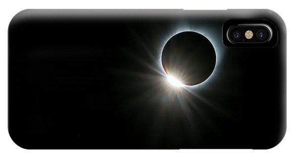 Astronomy iPhone Case - Solar Ring by Hua Zhu