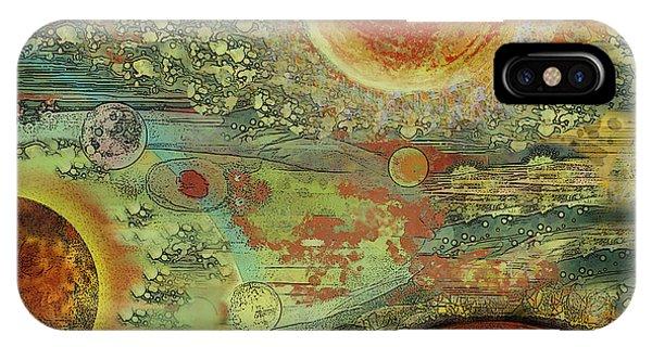 Solar Symphony IPhone Case