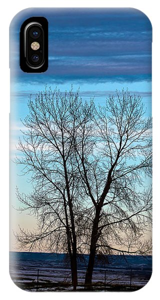 Soldier Creek Sunset IPhone Case