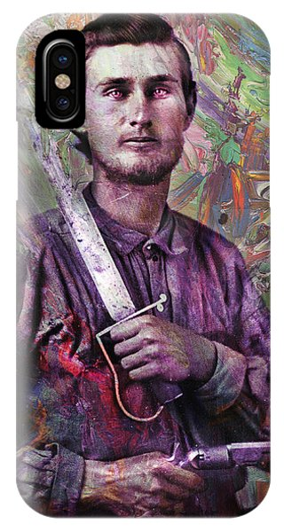 History iPhone Case - Soldier Fellow 1 by James W Johnson