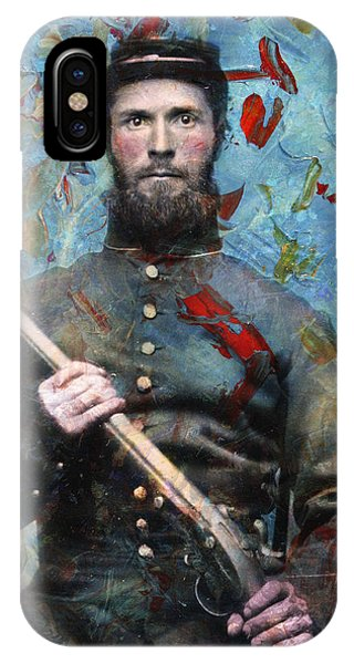 History iPhone Case - Soldier Fellow 2 by James W Johnson