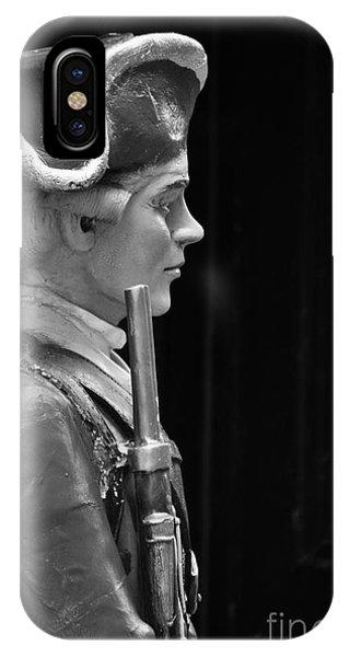 Soldier Statue Boston Ma IPhone Case