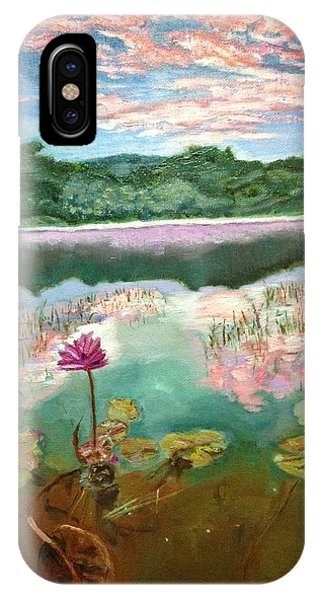Solitary Bloom IPhone Case