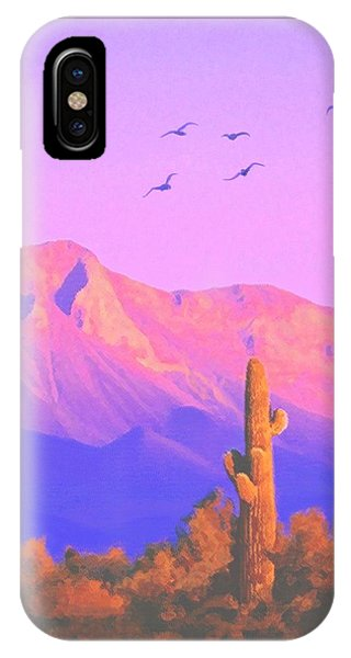 Solitary Silent Sentinel IPhone Case