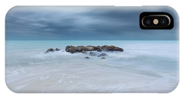 Sand iPhone Case - Solitude by Alexandru Popovski