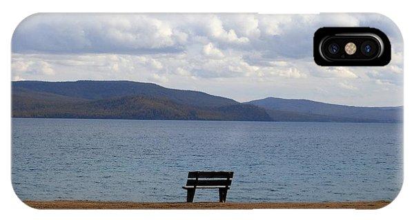 Solitude At Lake Khuvsgul IPhone Case