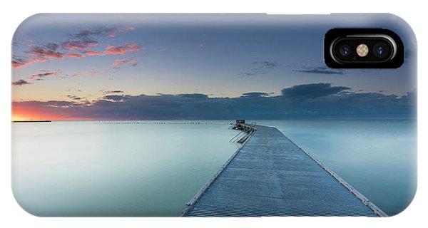 Bridge iPhone Case - Solitude3 by Alexandru Popovski