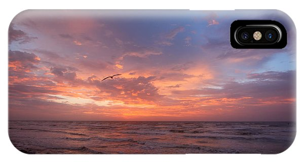 Solo Flight At Dawn IPhone Case