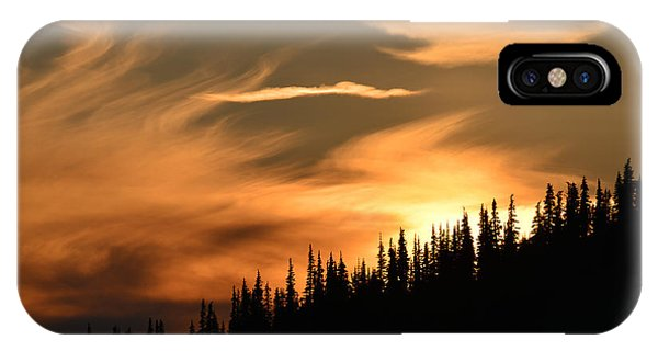 Solstice On Hurricane Hill IPhone Case