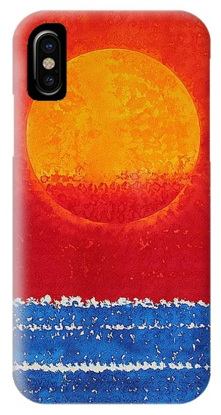 Solstice Sunrise Original Painting Sold IPhone Case