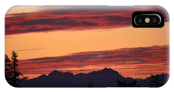 Solstice Sunset I IPhone Case
