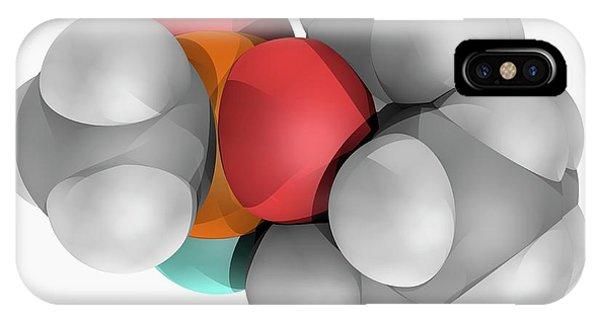 Soman Molecule Phone Case by Laguna Design/science Photo Library
