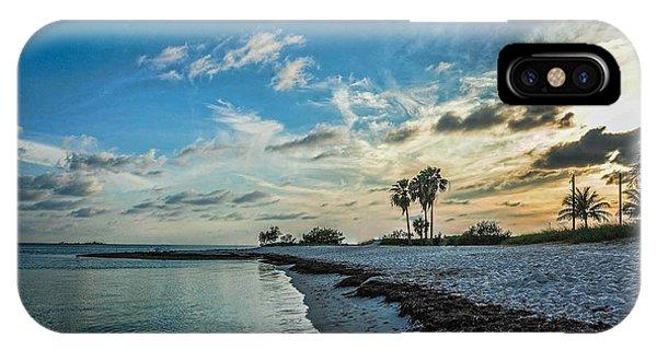 Sombrero Beach Sunset IPhone Case