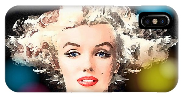 Marilyn - Some Like It Hot IPhone Case