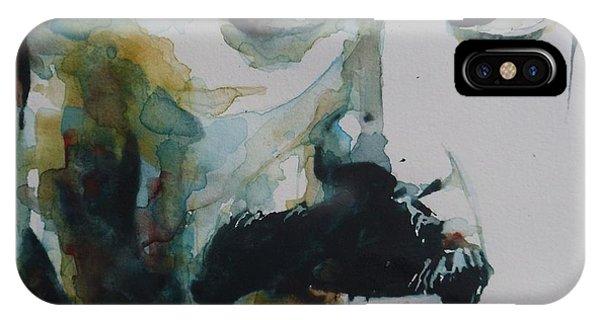 Singer iPhone Case - Freddie Mercury by Paul Lovering