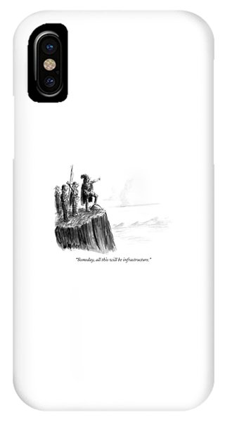 Explorer iPhone Case - Someday, All This Will Be Infrastructure by Warren Miller