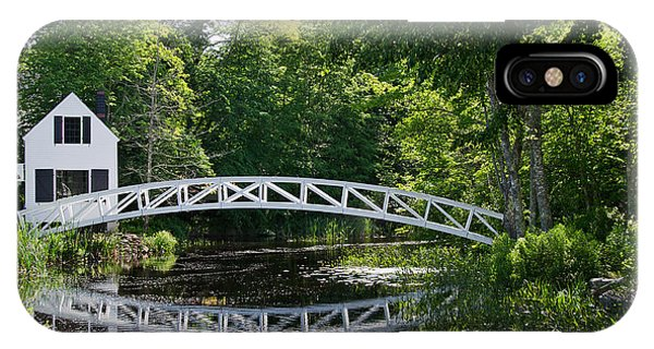 Somesville Bridge IPhone Case